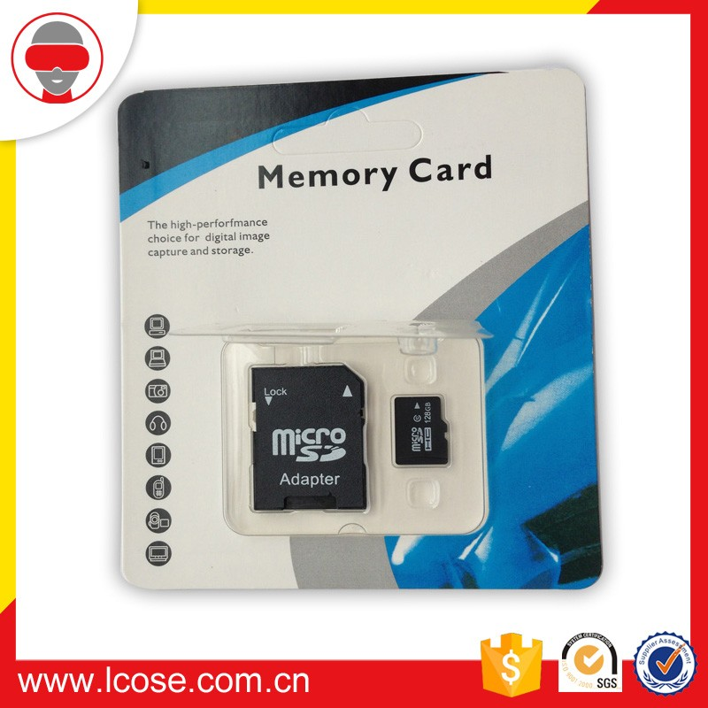 micro Wholesales real capacity high quality sd 128GB TF memory card