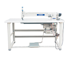OEM-2150L-4 beautiful stitching low vibration strong arm bedcover sewing machine industrial