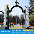 2017 hot sale artificial inflatable flower for gate decoration