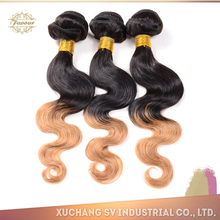 Hot Selling Beautiful Wave Virgin Human Hair Ombre 8A Hair fast shipping and cheap hair extension