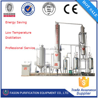 Environmental and power saving used engine/ tyre , car oil recycling machine