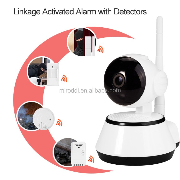 Cheap Price micro hidden voice recorder with P2P IP CCTV Camera