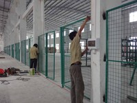 anping factory pvc coated fencing net