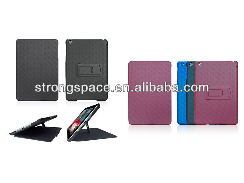 Hard Hybrid Kickstand Gel Case For Apple iPad Mini