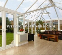 aluminium outdoor glass room