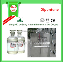 95% limonene dipentene for the material of chemical and Synthetic rubber and spices