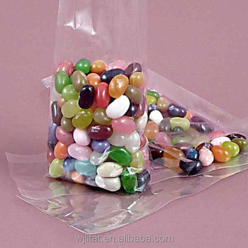 China Manufacturer Clear Flat Polypropylene Bag For Candy