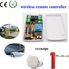 Opener Accessories Rf Automatic Doors Receiver, wireless rf receiver, controller YET 845 for Rolling Shutter