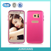 High quality Metal bumper pc back cover cell phone case for samsung s6
