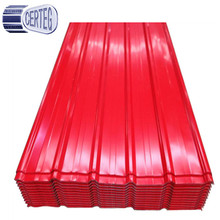Roof tiles galvanized steel gi corrugated steel sheet 0.3-0.8mm roofing sheet