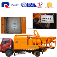 hot sale JS500 concrete mixer pump truck