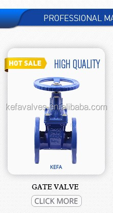 Rising stem & Non-rising stem type resilient seated gate valve