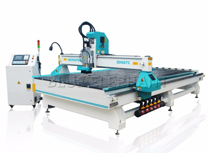 High Quality Jinan Atc Cnc Router Machine , Automatic 3D Cnc Router for Wooden Carving