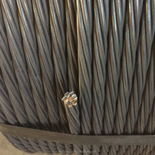 ASTM A416 Gra.270 15.24mm Prestressed Steel Strand