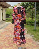 2013 Prom dress for muslim for Girls