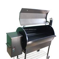 Excellent Quality brazilian Wood Pellet smoker barbecue Grill for Sale.