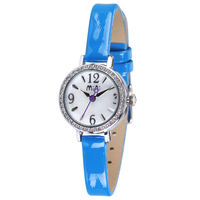 MN2024 hot sale paris ladies wristwatch genuine leather strap high quality q&q quartz watch water resist 5 bar
