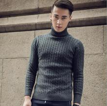 zm52414a clothing men's winter turtleneck sweater men 2016