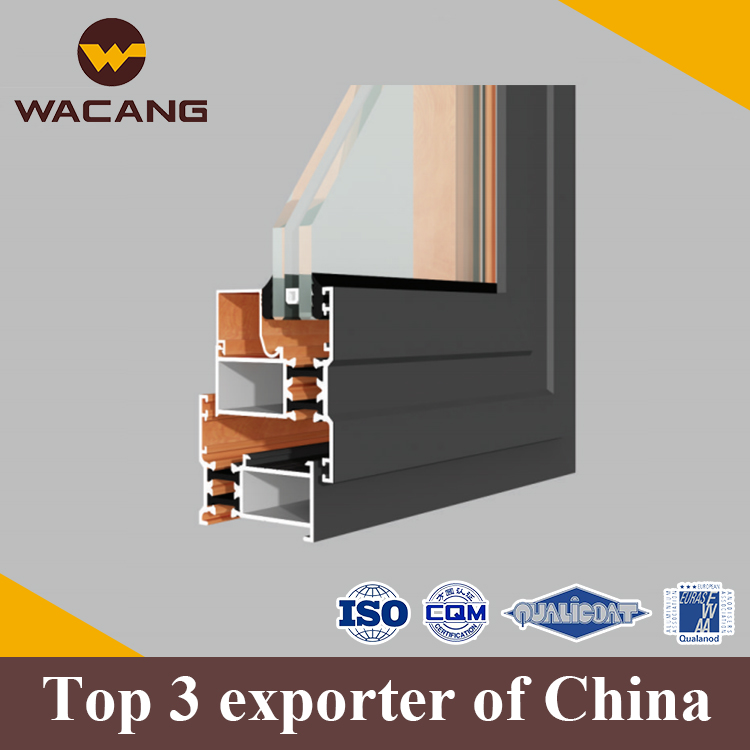 Hot sales powder coating custom aluminium kitchen door profiles