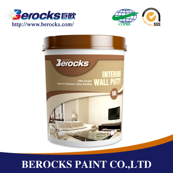 Eco-friendly wall care putty