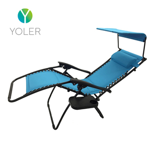 Yoler Relax beach Sunshade Recliner Zero Gravity Swimming Pool Chair