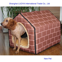 Good quality wholesale newest easy detachable triangle nest outdoor dog house for sale in malaysia