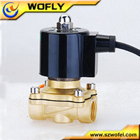 1/4''~2'' 220v proportional solenoid valve for water purifier normally closed