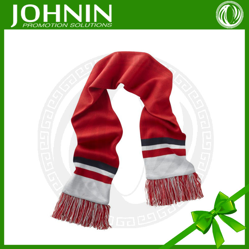acrylic Good Quality oem knitted football fabric for scarves