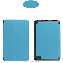 2017 stand Amazon accessory Pu flip leather wallet case for kindle Fire 7 on stock