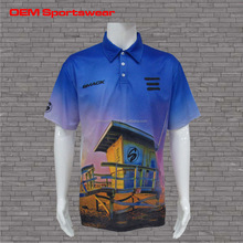 Custom color combination polo t-shirt dry fit