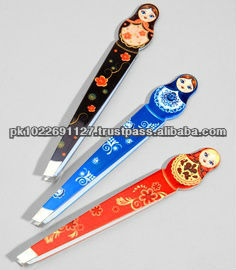Girl Shape Eyebrow Tweezers,manicure tweezers