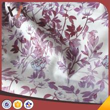 Professional custom double brushed printed fabric for babywear for wholesales