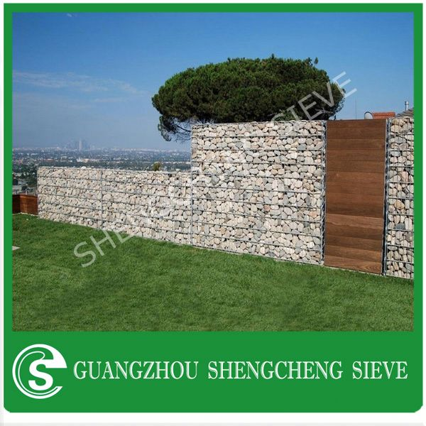 Building material decorative gabion wall gabion wall construction