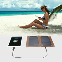 New products 2016 Dual USB 10W Low price mini solar panel outdoor charging for mobile phone and tablet pc