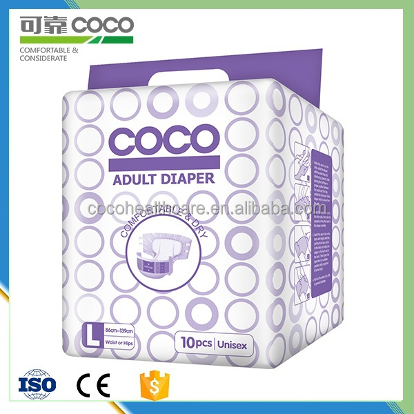 Comfort Feel Free Adult Diaper with High Quality Japanese SAP and CE.ISO Certification