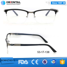 Vintage Decoration acetate Eyeglasses Frame metal spectacles eyewear optical frames