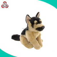 Factory custom animal plush toy police dog stuffed toys