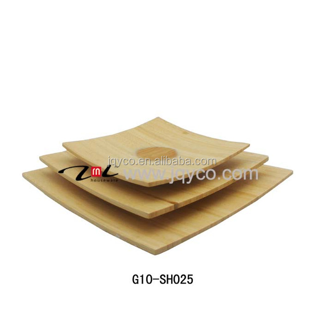 best seller cheap bamboo trays, food serving tray with factory price
