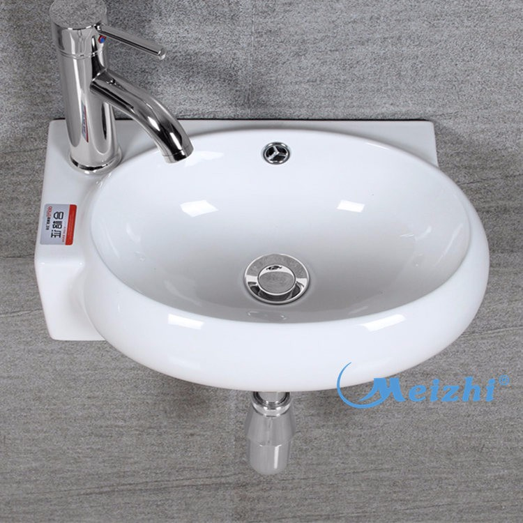 Ceramic wall hung sinks for school bathrooms