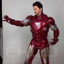 Super Hero Iron Man Life Size Resin Fiberglass Statue for Sale