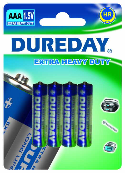 (D C AA AAA 9V SIZE BATTERY)Carbon Zinc dry Battery