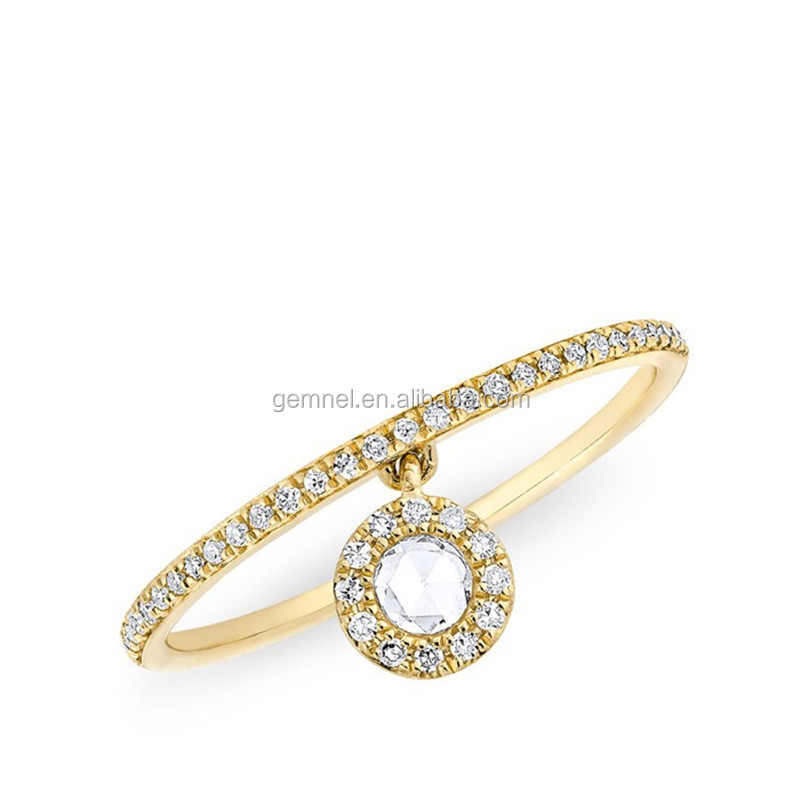 Yellow gold diamond silver fashion ring best place to buy china jewelry