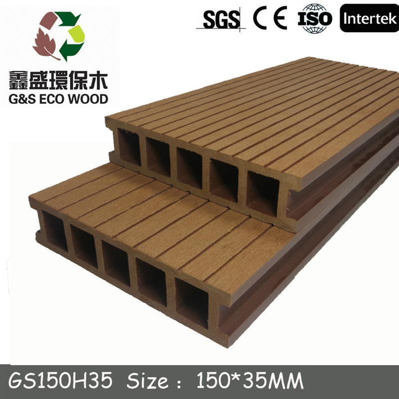 co-extrusion <strong>new</strong> wpc decking wpc floor board for the outdoor