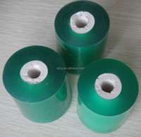 clear soft pvc film plastic tube core