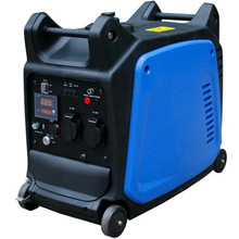 LCD panel portable digital inverter 3kw silent generator 3kw, electricity generator