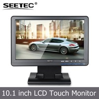 4 wire resistive touch screen lcd panel VGA HDMI YPbPr inputs car 10 inch tft lcd monitor