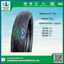 China manufacturer direct top brand nylon colored motorcycle tires 70/90-14