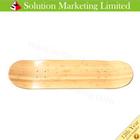 High Quality Skateboard Deck Blank Bamboo Composite Deck Wholesale