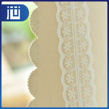 Wholesale top quality cheap popular custom household lace curtain fabric