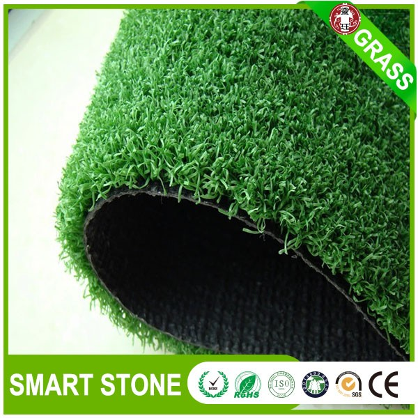 UV resistance synthetic lawn for golf imported material deep green artificial grass